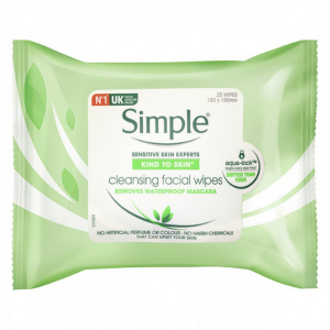Khăn Tẩy Trang Simple Kind To Skin Cleansing Facial Wipes