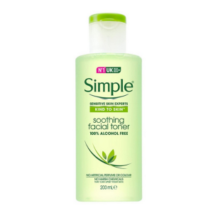 Nước Hoa Hồng Simple Kind to Skin Soothing Facial Toner